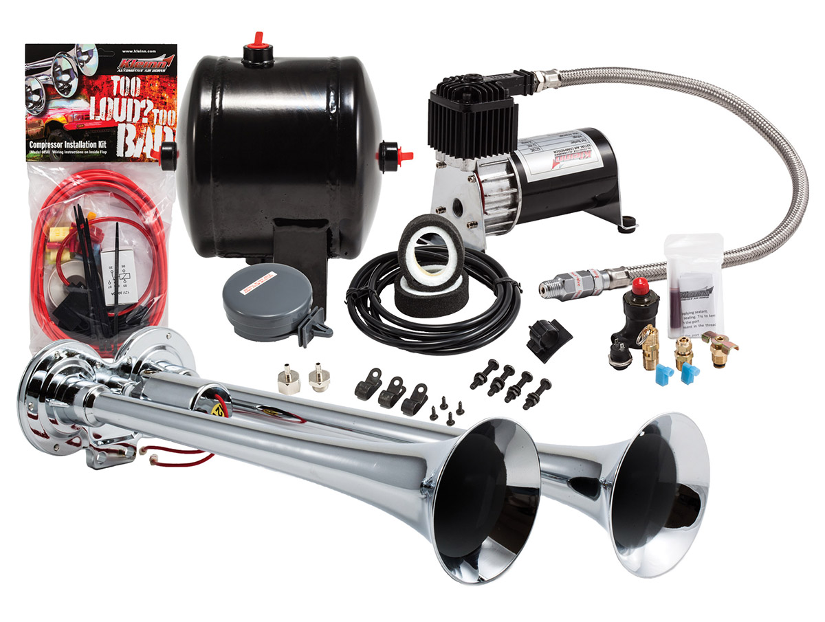 Air Horn Compressor >> Model Hk2 Dual Truck Horn Kit