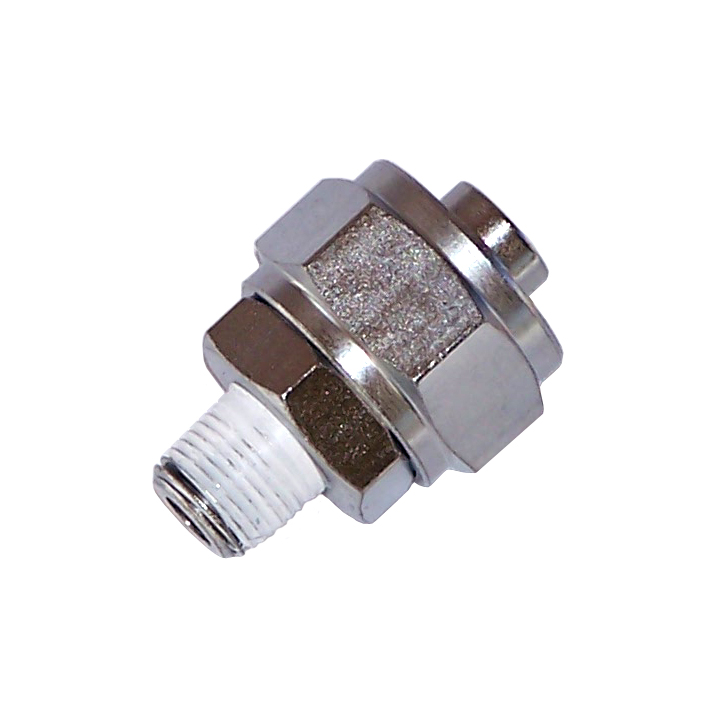 ″ m npt straight compression fitting for o d tube