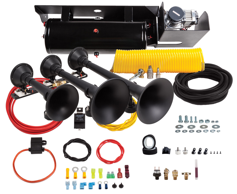 Ford F250 And F350 Super Duty Kit Sdkit 734 Kleinn Air Horns 73 F 250 Wiring