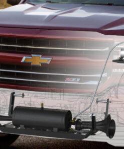 gm truck air compressor train horn